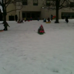 More sledding fun!