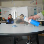 Steam Engine with Mr.  Hartman