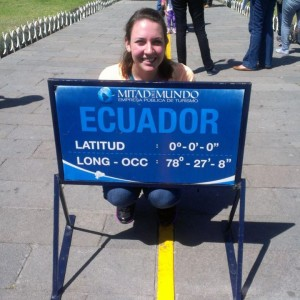 I visited the equator last January. Yes, it really is hot there!