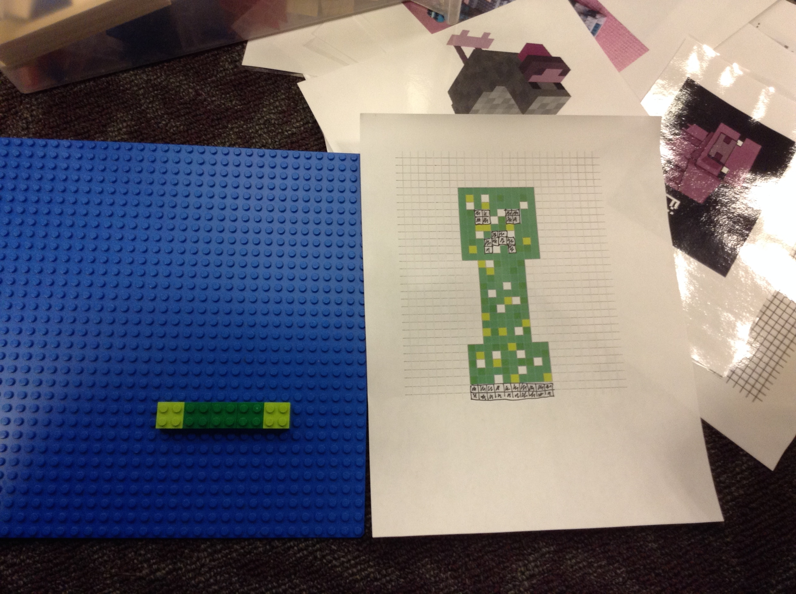 Minecraft Building Stem For Girls Using Brackitz And