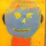 Third Grade Expressive Portraits