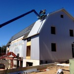 Installing more roof panels