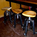 Stools and table made by John Grieco