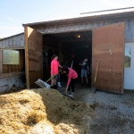 7th grade Sprout Creek Farm 2013 192