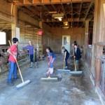 7th grade Sprout Creek Farm 2013 194