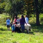 7th grade Sprout Creek Farm 2013 203