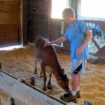 7th grade Sprout Creek Farm 2013 209