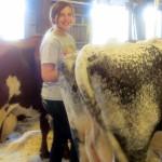 7th grade Sprout Creek Farm 2013 238