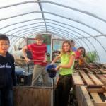7th grade Sprout Creek Farm 2013 320