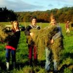 7th grade Sprout Creek Farm 2013 339