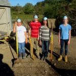 7th grade Sprout Creek Farm 2013 436