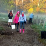 7th grade Sprout Creek Farm 2013 464