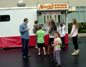 Happy to have Nancy's Fried Dough come to volunteer to help out