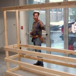 Chris Hartman settling in well to the Workshop Space