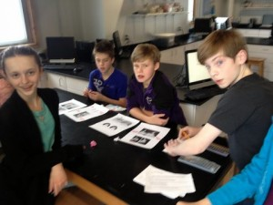 Checking and reporting genetic traits