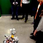 Upper School robotics team demonstration