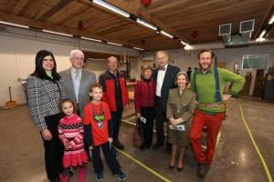 The McNally, Platt, Hartman and Willsea family representatives