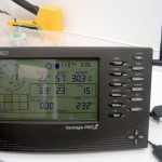 Weather station read out