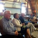 John's former teachers, Len Wilcox and Bill Dalton